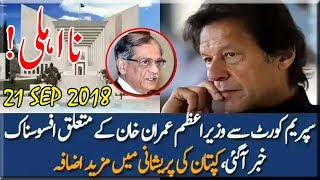 Pakistan News | Bad News for PM Imran Khan|Chief Justice Saqib Nisar|Petition for Disqualification
