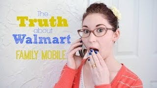 Let's Talk about the Walmart Family Mobile Plan {Follow-up Video}