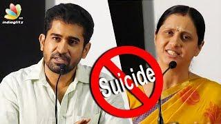 Vijay Antony and Devayani about Ashok kumar death | Producer Anbu Chezhian Financier | Suicide Case