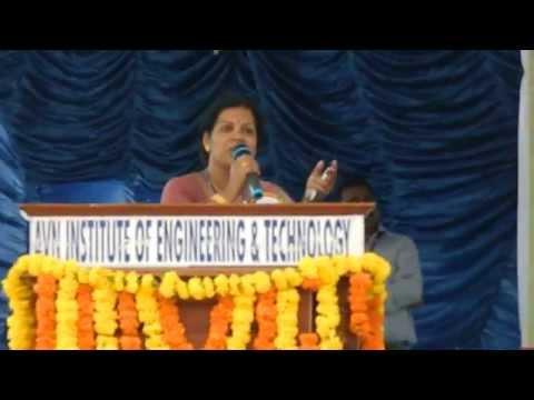 Xxx Mp4 B Tech Orientation Day Speech By Mrs Devika Bhatnagar AVNIET 3gp Sex