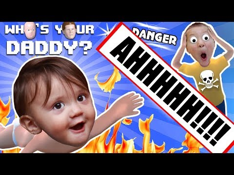 Xxx Mp4 BABY IN DANGER ☠ Who S Your Daddy Skit Gameplay W Shawn Vs Knife Fire Glass More FGTEEV Fun 3gp Sex