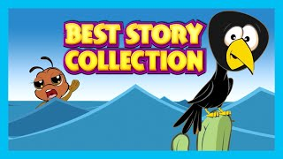 Best Story Compilation - The Clever Crow, The Dove & The Ant, The Little Pigs and More