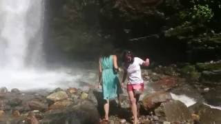 Sexy Indian Teen Girl bathing on Pelling Falls | Sikim(India) | Oops....