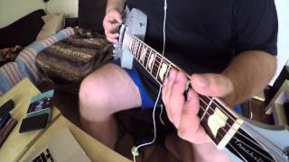 Metallica - This Was Just Your Life - partial cover - Mesa Boogie MarkV:25 play through
