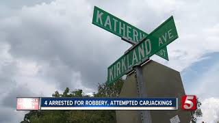 Group Arrested For Robbery, 3 Attempted Carjackings In 20 Minutes