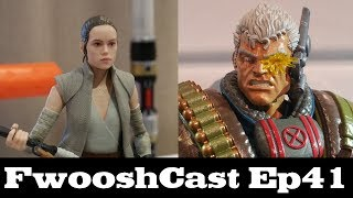 FwooshCast! Deadpool Legends, Star Wars Black Series, and Chit Chat from the Hasbro Breakfast