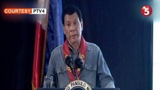 Pres. Rodrigo Duterte, muling binanatan ang mga tiwali umanong opisyal ng simbahan