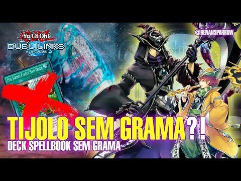 DECK SPELLBOOK SEM GRAMA! - Yu-Gi-Oh! Duel Links #376