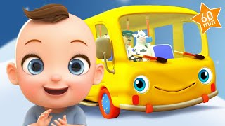 🔴 The Wheels on The Bus 🚌 Nursery Rhymes Playlist for Babies & Children | Kids Songs