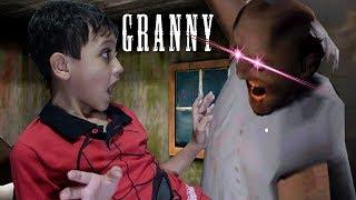 GRANNY - FUI ATACADO PELA VOVÓ ASSUSTADORA (FIVE NIGHT AT GRANNY'S!!)