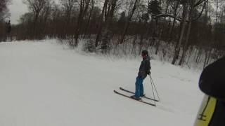 02/07/17 The Big Man skiing Atomic 100 cTi on Lower Switchback.