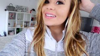 DYING MY HAIR BLONDE! | HeyItsSarai