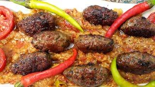 آموزش کباب تابه ای باسس بادمجان غذایی بسیارلذیذاز مامان تی وی