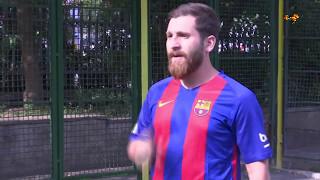Galna dubbelgångaren - vad gör Messi i Iran?