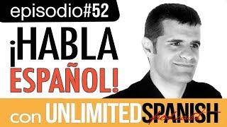 #52 Lección de Español en vídeo - Clase de español -  Qué frío hace