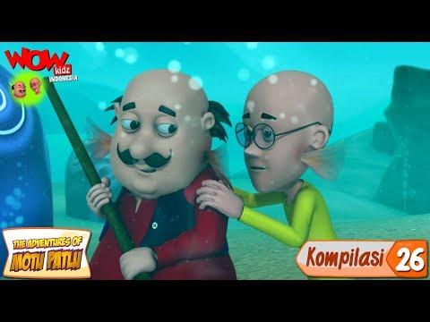 Kompilasi - 26 | Motu Patlu dalam Bahasa - Animasi 3D Kartun | WowKidz Indonesia