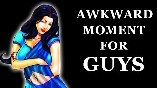 Awkward Moment For Guys Episode 1 | Savita Bhabhi