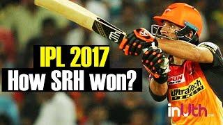 IPL 10: SRH vs RCB:  Turning Point of the game