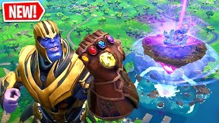 Becoming THANOS In SEASON 6 of Fortnite! (Glitch)