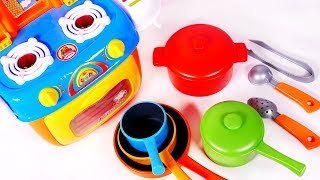 Cooking Kitchen Pot and Pans Toy Playset for Kids