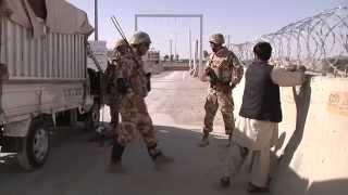 Afganistan: securitatea bazei Kandahar, asigurata de militarii romani