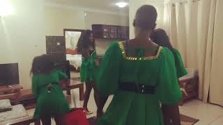 Cindy sanyu does the Malwedhe challenge