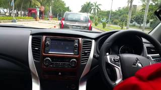 New Pajero test Drive, 20 Jan 2016