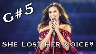 Sarah Geronimo Sustained High Note in TAYO