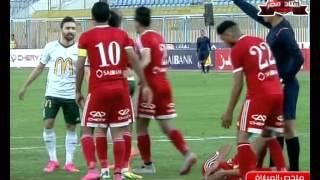 ملخص مباراة حرس الحدود 3 - 1 المصري   الجولة 22 من الدوري المصري