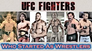 UFC Fighters Who Started Their Careers as Wrestlers