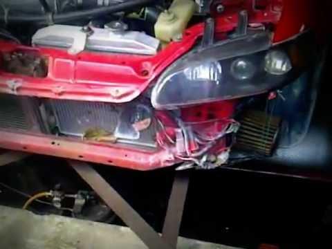 Honda Civic 92-95 K20A Type/R Swap By Maxpower run on Dyno