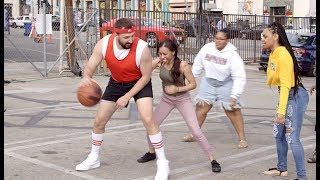 Playing Strangers in Basketball for Parking Spots!