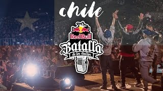 RED BULL BATALLA DE LOS GALLOS FINAL NACIONAL CHILE 2017 | B Producciones