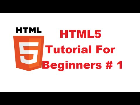 Download HTML5 Tutorial For Beginners 1 # Introduction free