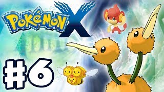 Pokemon X and Y - Gameplay Walkthrough Part 6 - Camphrier City and Wonder Trades (Nintendo 3DS)