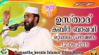 Fathima Beevi Mahilakalkk Mathrka     Usthad Kabeer Baqavi   Part-1  12 -9 -2015