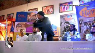 bohemia tells about his story in a press conference in sydney