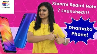 Xiaomi Redmi Note 7 Launched, Price in India, Review in Hindi, Official First Look, Specs, Features