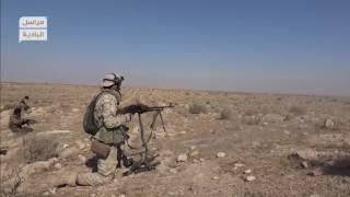 """استهداف أرتال ميليشيات إيران المتوجهة إلى حلب عبر طريق """"إثريا-خناصر"""""""