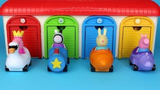 Peppa Pig Mini Buggies Garage Peppa Surprise Toys Mashems Chupa Chups Surprise Eggs for Kids