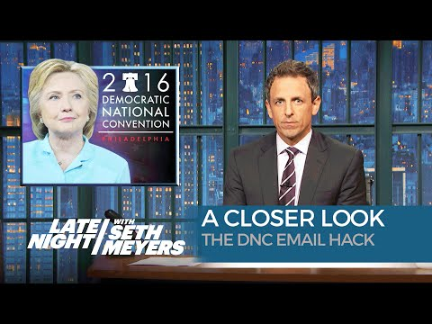 The DNC Email Hack A Closer Look