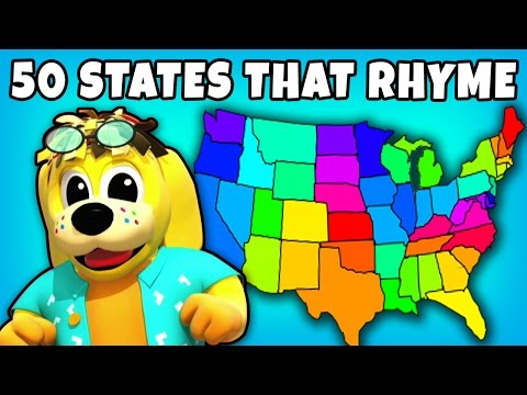 watch 50 States That Rhyme | Kids Songs | Plus Lots More Fun Nursery Rhymes Collection for Kids by RaggsTV