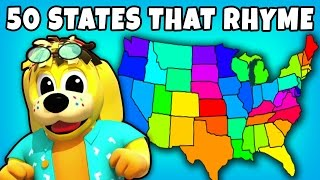 50 States That Rhyme | Kids Songs | Plus Lots More Fun Nursery Rhymes Collection for Kids by RaggsTV