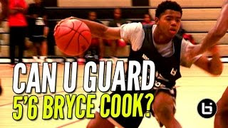 5'6 Bryce Cook Is The NEW Most Exciting Player In High School! Can YOU Guard Him?