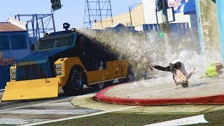 WAR OF RAGE! *RIOT TRUCK TROLLING!* | GTA 5 Funny Moments
