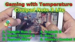 Coolpad Note 3 Lite Gaming Review: Better than K4 Note