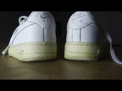Air Force One unyellowing and cleaning