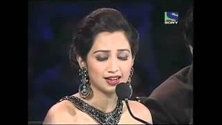 Shreya ghoshal sing Saans Albeli on X Factor India.mp4