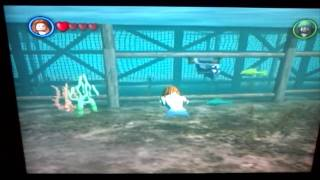 how to get the mermaid o n Lego pirates game