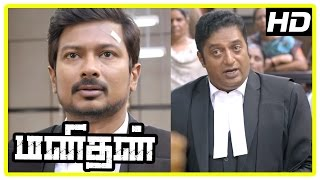 Manithan Tamil Movie | Scenes | Udhayanidhi attacked | Court appoints security for Udhayanidhi